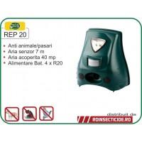 Aparat impotriva animalelor si pasarilor cu senzor de miscare (40mp) - REP 20