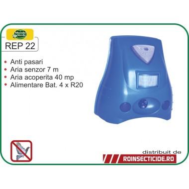 Aparat anti pasari cu senzor de miscare (40mp) - REP 22