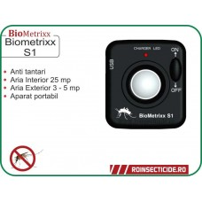 Aparat anti purici si anti tantari portabil cu ultrasunete - BioMetrixx S1