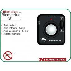 Aparat anti tantari si anti purici cu ultrasunete portabil - BioMetrixx S1