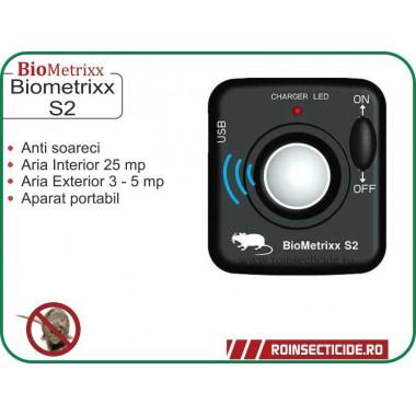 Aparat cu ultrasunete impotriva soarecilor si sobolanilor - BioMetrixx S2