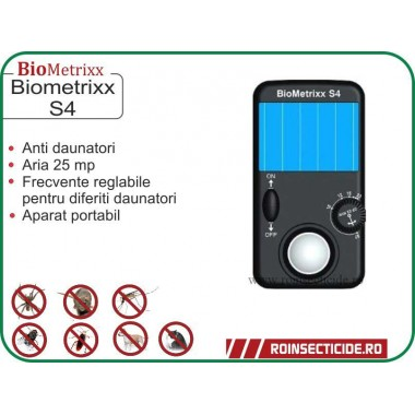 Aparat solar impotriva insectelor si daunatorilor (anti soareci,anti purici) - 25mp - Biometrix S4