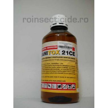 Insecticid impotriva mustelor si altor insecte daunatoare Sanitox 21 CE 1000ml