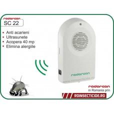 Aparat cu ultrasunete impotriva acarienilor (40 mp) - Radarcan SC 22