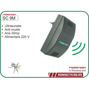 Aparat cu ultrasunete impotriva mustelor (30mp) - Radarcan SC 9M