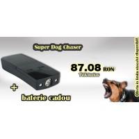 Aparat cu ultrasunete portabil anti caini (12m) - Pestmaster Superdog Chaser