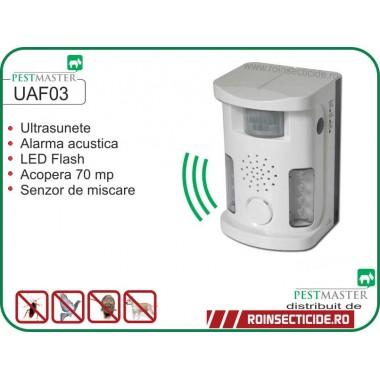 Aparat anti veverite, anti animale salbatice (70 mp) - Pestmaster UAF03