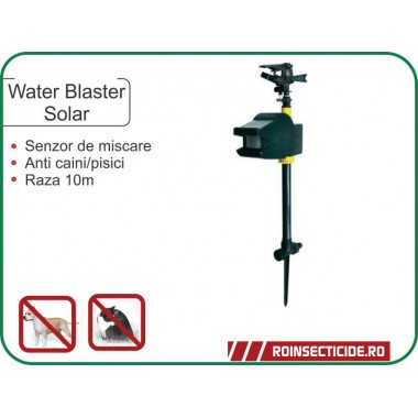 Aparat anti animale cu jet de apa (10m) - Water Blaster Solar
